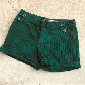 Anthro DAUGHTERS of the LIBERATION green shorts 6
